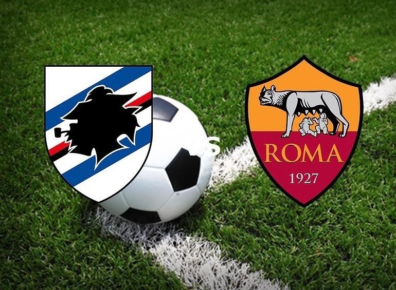 Streaming Sampdoria Roma live gratis su