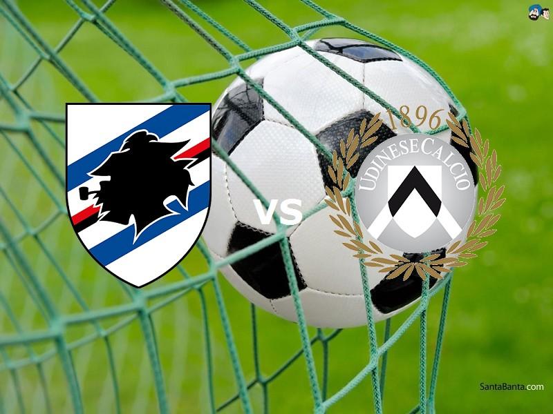 Sampdoria Udinese streaming gratis grati