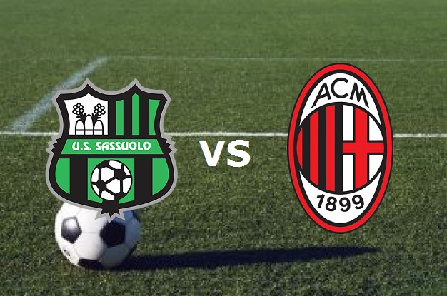 Sassuolo Milan streaming su Rojadirecta