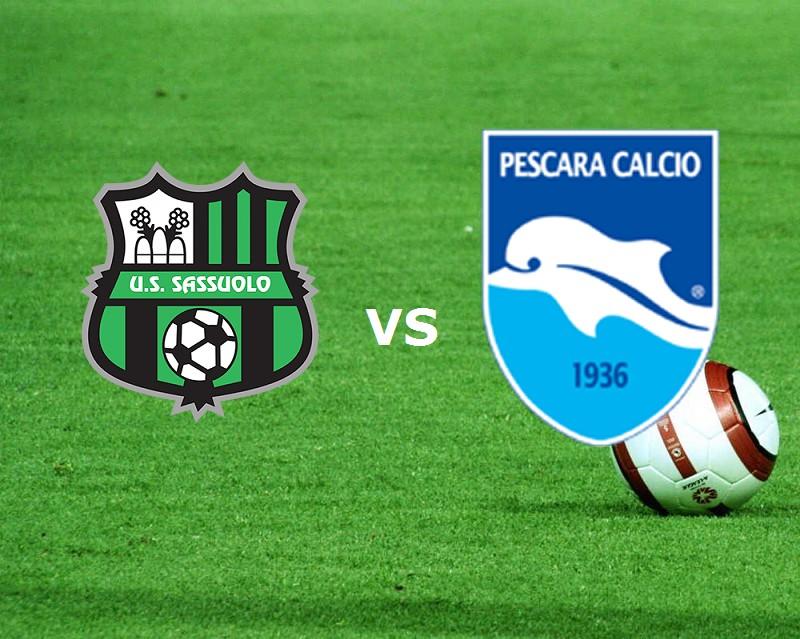 Sassuolo Pescara streaming live gratis l