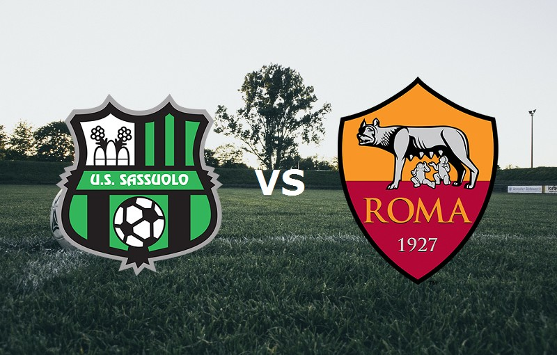 Sassuolo Roma streaming live gratis link