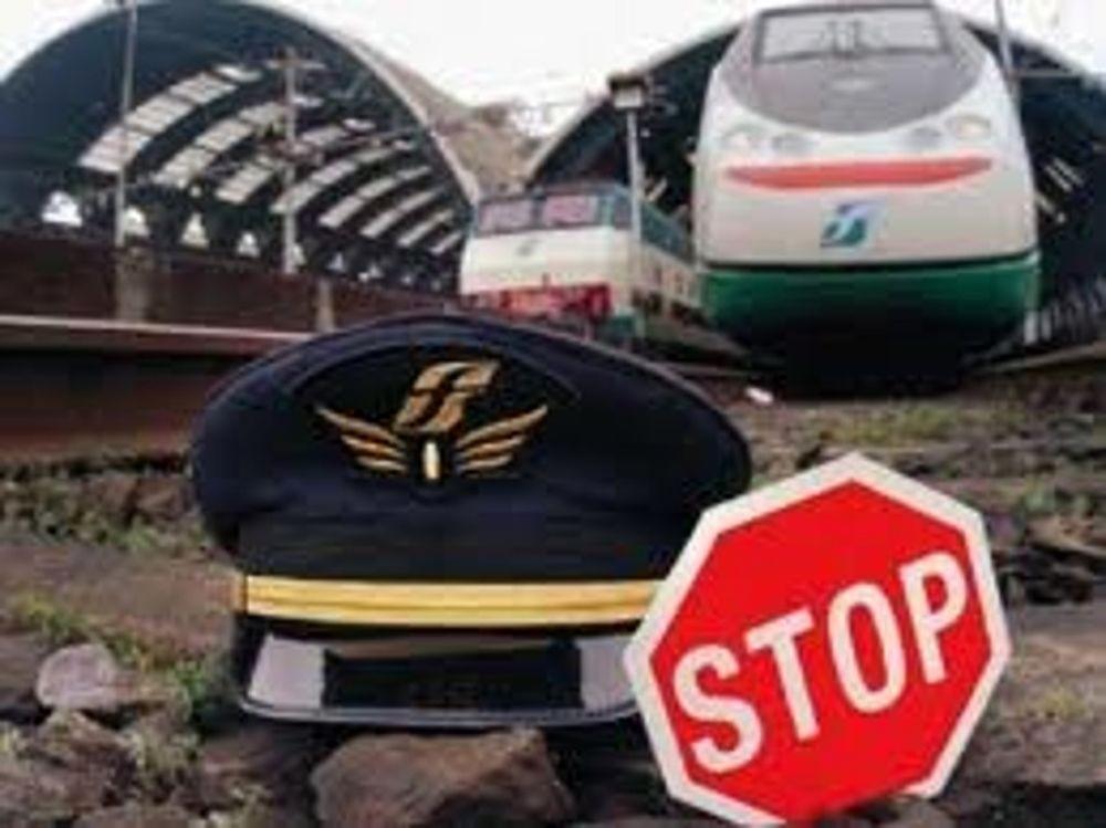 Sciopero treni stasera e venerdì domani