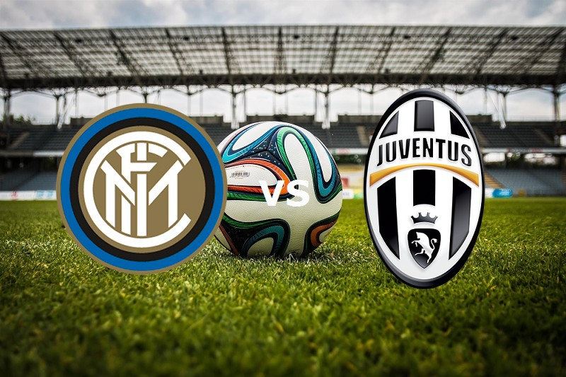 Inter Juventus streaming live. Dove vede