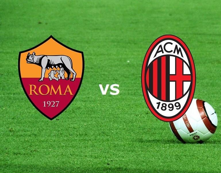 Streaming Serie A Roma-Milan in diretta