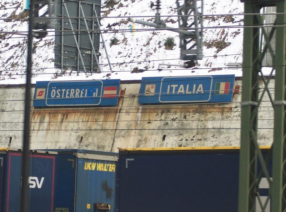 Treno Venezia-Austria diretto ad alta ve