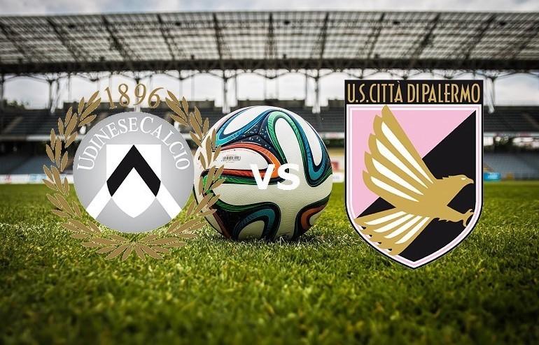 Udinese Palermo streaming live gratis. V