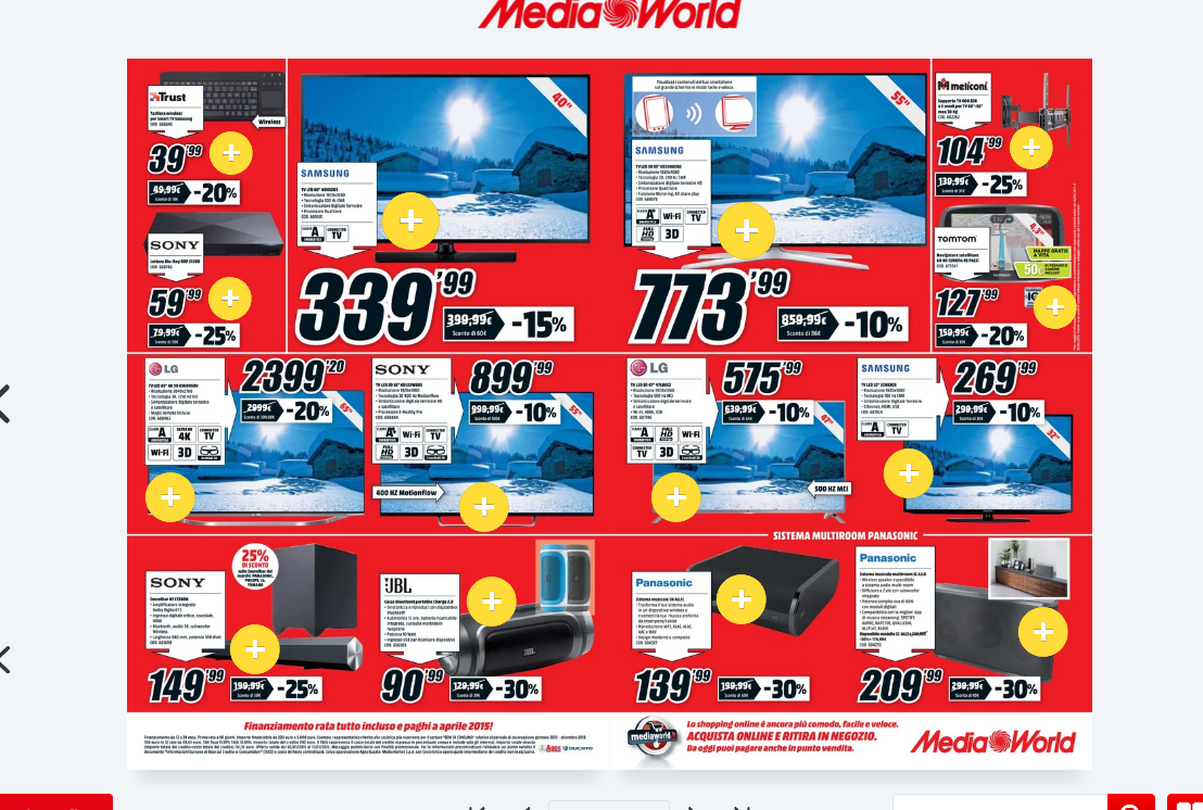 Beautiful Volantino Mediaworld La Spezia Le Terrazze Pictures - Idee ...